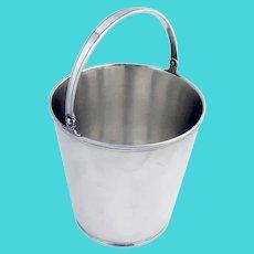 Tiffany Art Deco Bucket Swing Handle Sterling Silver 1927
