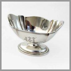Plymouth Waste Bowl Gorham Sterling Silver 1909 Mono M