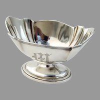 Plymouth Waste Bowl Gorham Sterling Silver 1909 Mono M