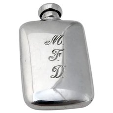Tiffany Small Scent Bottle Rectangle Form Sterling Silver Mono MFD