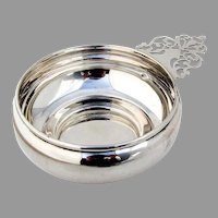 Porringer Baby Bowl Keyhole Handle Preisner Sterling Silver 1950