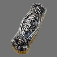 He Loves Me Clothes Brush Unger Brothers Sterling Silver 1903