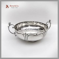 Simeon Soumain Marriage Bowl 1720 Reproduction Sterling Silver