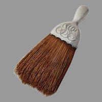 Gorham Whisk Broom Sterling Silver 1909 Date Mark Mono JSG