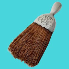 Gorham Whisk Broom Sterling Silver 1909 Date Mark Mono JSG