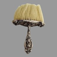 He Loves Me Bonnet Brush Unger Brothers Sterling Silver 1903