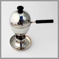 Italian Egg Coddler Cup Brandimarte Di Guscelli Passeri 800 Silver