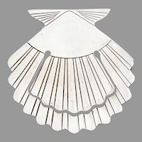 Tiffany Clam Shell Form Bookmark Sterling Silver