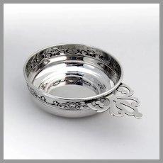 Strasbourg Porringer Baby Bowl Gorham Sterling Silver Mono Kim