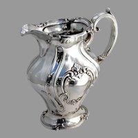 Chantilly Water Pitcher Gorham Silverplate