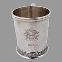 Aesthetic Cup Mug John Wendt Sterling Silver Mono RCR 1874