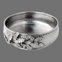 Mixed Metals Bowl Holly Decorations Gorham Sterling Silver