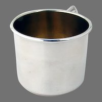 Baby Cup Gilt Interior Manchester Sterling Silver No Mono