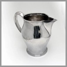 George Gebelein Water Pitcher Sterling Silver Boston Mono EL