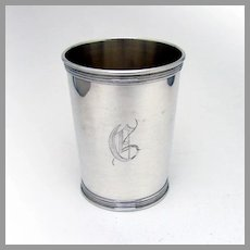 Julep Cup Benjamin Trees Sterling Silver Mono G