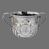 Caudle Cup Howard Sterling Silver New York 1892 Mono GMG