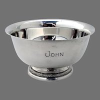 Prelude Bowl International Sterling Silver 1939 Mono John