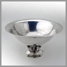 Georg Jensen Footed Bowl 234C Sterling Silver 1925 Denmark