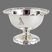 Winchester Master Salt Dish Shreve Sterling Silver 1910 Mono A
