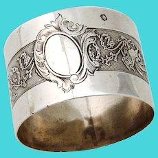 Gargoyle Design Napkin Ring Granvigne French Sterling Silver