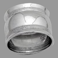 Triple Banded Napkin Ring Gorham Sterling Silver No Mono