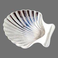 Tiffany Small Shell Bowl Sterling Silver 1960 No Mono