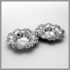 Francis I Nut Cups Pair Reed Barton Sterling Silver