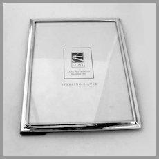 Large Rectangular Picture Frame Lunt Sterling Silver