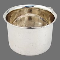 Baby Cup Phoenix Bottom Towle Sterling Silver No Mono
