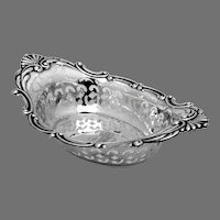 Cromwell Nut Bowl Gorham Sterling Silver 1900 Mono MLE