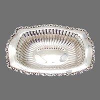 Louis XV Serving Bowl Whiting Sterling Silver 1891 No Mono