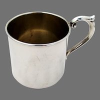 Baby Childs Cup Lullaby Sterling Silver No Mono