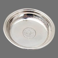 Ottoman Empire Nut Cup Coin Insert Turkish 800 Silver