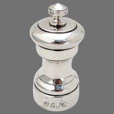Tiffany Pepper Grinder Sterling Silver 1950 Mono OEM
