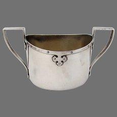 Carmel Sugar Bowl Wallace Sterling Silver 1912 No Mono