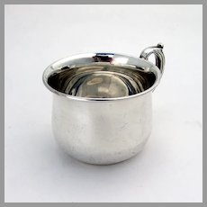 Birks Baby Cup Double Scroll Handle Sterling Silver Canada