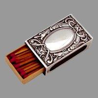 Celtic Dragon Match Box Cover 830 Standard Silver