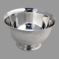 Paul Revere Bowl Reproduction Tiffany Sterling Silver No Mono