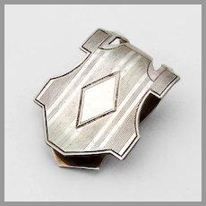 Art Deco Napkin Clip Sterling Silver Webster