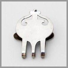 Lunt Napkin Clip Sterling Silver No Mono