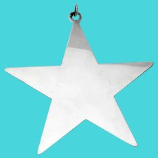 Star Christmas Ornament James Avery Sterling Silver