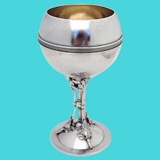 Aesthetic Goblet Starr Marcus Sterling Silver New York 1870