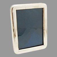 Rounded Rectangular Picture Frame Sterling Silver Shreve Bell Mark