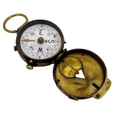 WW1 US Army Engineer Corps Compass 1918 Switzerland