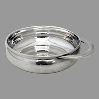 Plain Design Porringer Baby Bowl Towle Sterling Silver