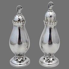 Alphonse La Paglia Salt Pepper Shakers Set No 113 Sterling Silver