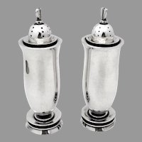 La Paglia Design Salt Pepper Shakers Set International Sterling Silver
