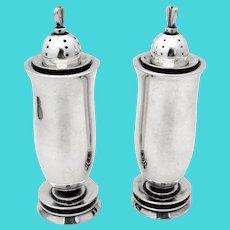 La Paglia Design Salt Pepper Shakers Set International Sterling Silver