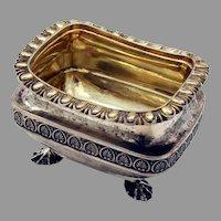 Regency Open Salt Sterling Silver London 1807 Daniel Pontifex