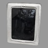 Large Rectangular Picture Frame Italian Sterling Silver